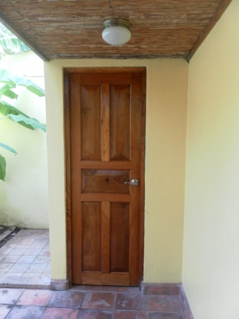 Casa Tranquilla - Back Door