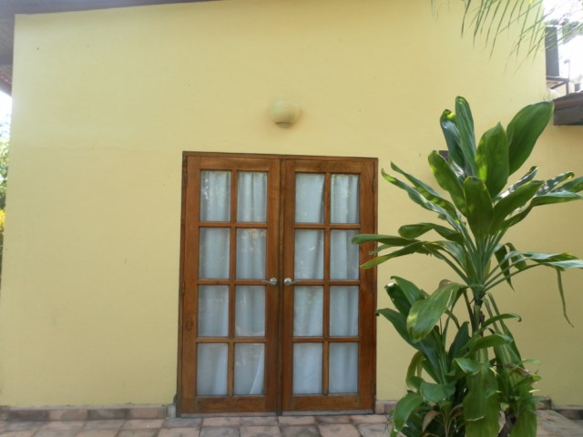 Casa Tranquilla - Back Exit Door
