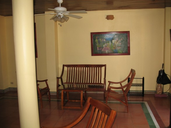 Casa de la Plaza - Living Room Area