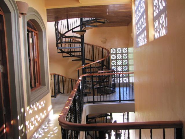 Granada apartment staircase