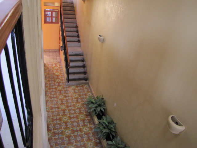 Stairs to aparment 2