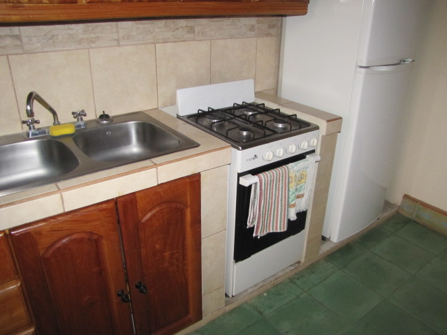 Typical apartment kitchen