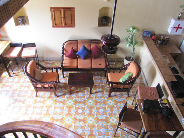 Reception area, Vista Mombacho